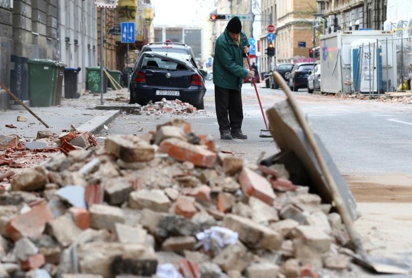 クロアチア 地震