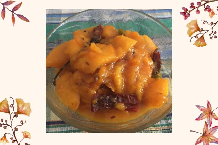 shalini-kala-ripe-mango-chutney-recipe-homemade