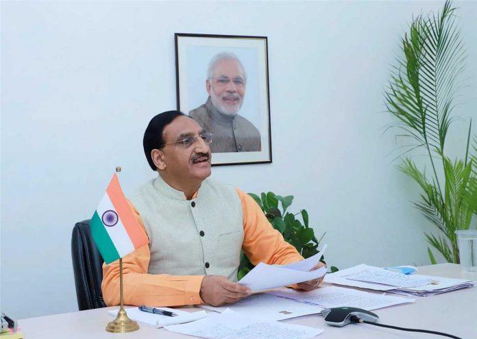 pokhriyal-education-india-minister