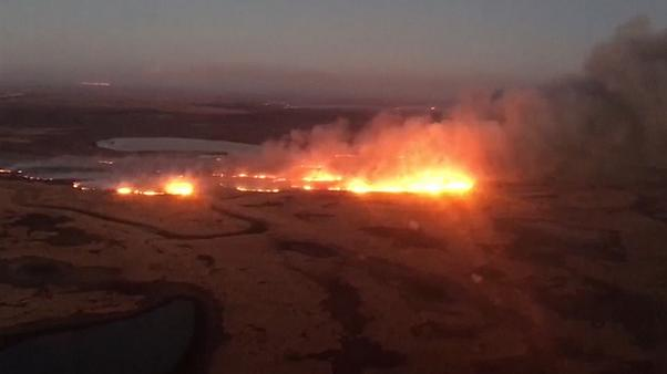 Argentina fire