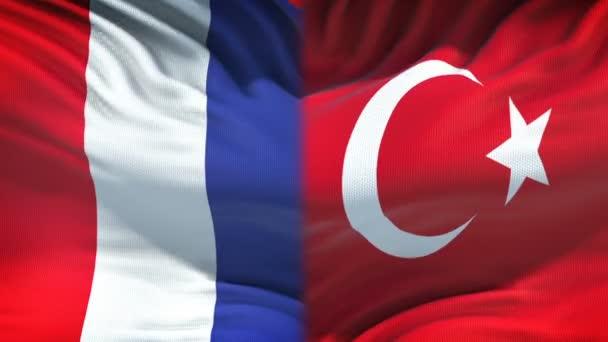 france turkey flag