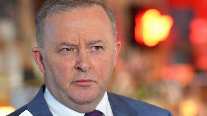 Australia's opposition Labor Party Anthony Albanese