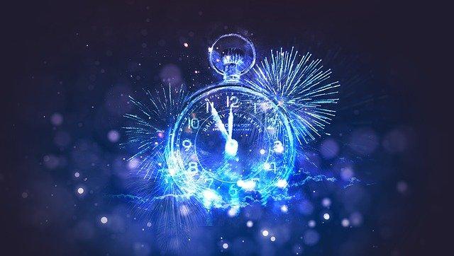 2021 New Year 2021 leadership time clock