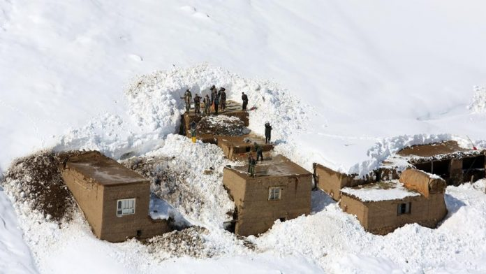Afghanistan avalanche