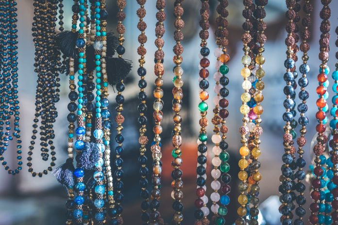 photo of beaded accessories